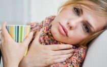Болит горло и насморк