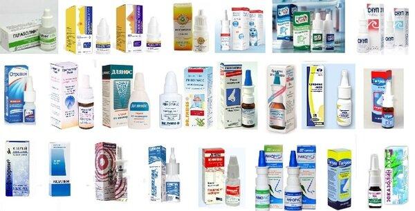 Сосудосуживающие препараты от аллергии